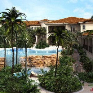 Architectural Animation, Luxury Residence, Florida
