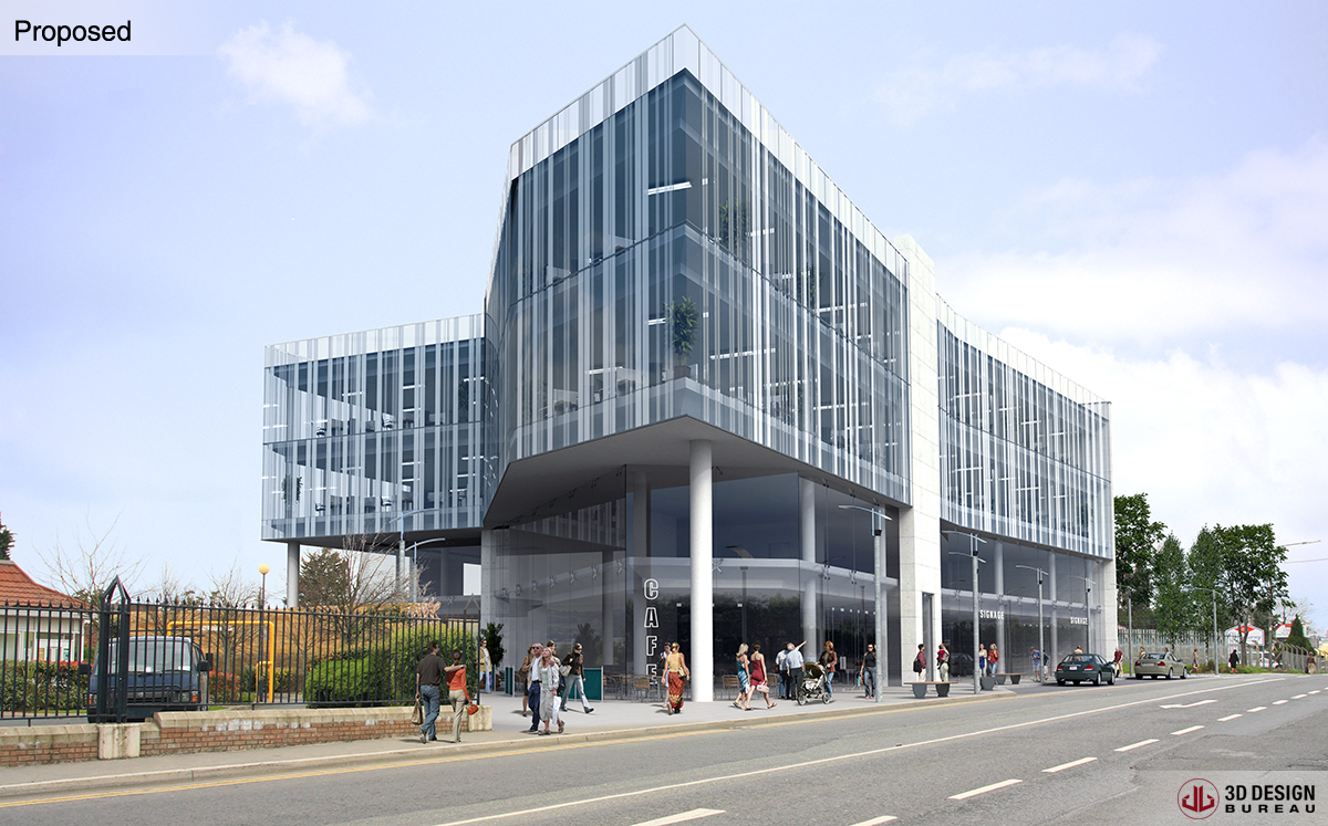 D design bureau architectural montage portfolio
