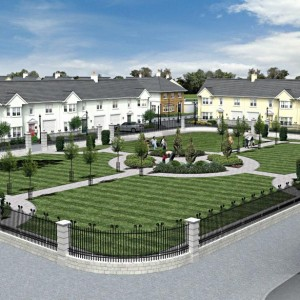 Architectural Rendering, Residential Development, Ireland