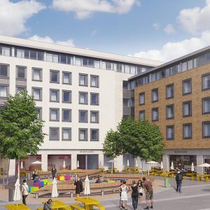 3D Design Bureau, Architectural Rendering, ApartHotel Development, Dublin