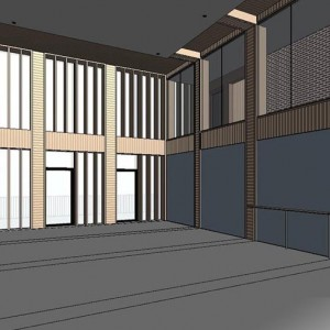 BIM 3D Visualisation, BIM Model, Dance Studio, New York