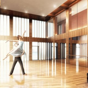 BIM 3D Visualisation, 3D Visualisation, Dance Studio, New York