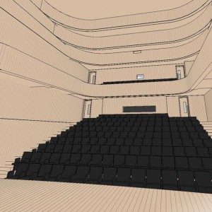 BIM 3D Visualisation, BIM Model, Concert Hall, New York