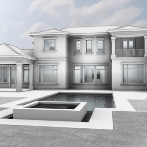 BIM 3D Visualisation, Structural Draft, Luxury Residence, Florida