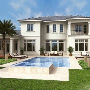 BIM 3D Visualisation, 3D Visualisation, Luxury Residence, Florida