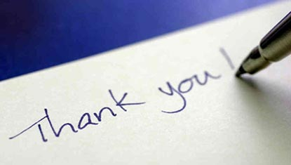 Blog, The Two Most Powerful Words In Business - Thank You!