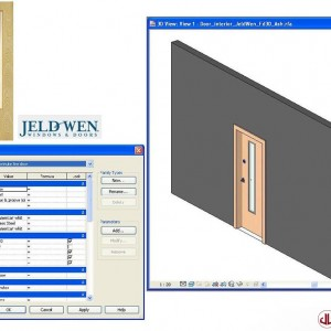 Building Components to BIM, Door