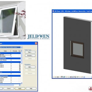 Building Components to BIM, Reversiable Window