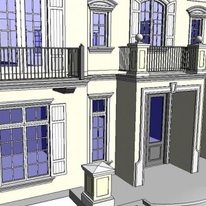 CAD to BIM, Luxury Residence, Florida