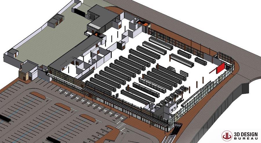 Retail Design Bureau.3d Design Bureau Cad To Bim Portfolio