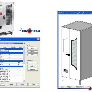 FF&E to BIM, Catering Oven