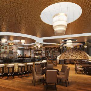 Interior Rendering - Hotel Bar, Dubai Airport