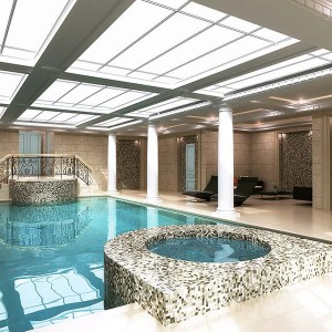 Interior Rendering, Private Pool, London
