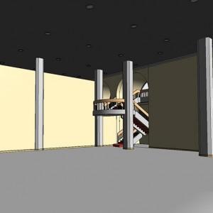 Scan to BIM, BIM Model, Gallery, Abu Dhabi