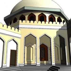 Scan to BIM, BIM Model, Mosque, Abu Dhabi