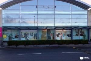 Retail Design Bureau.3d Design Bureau Bespoke Virtual Shopfront Installed In Busy