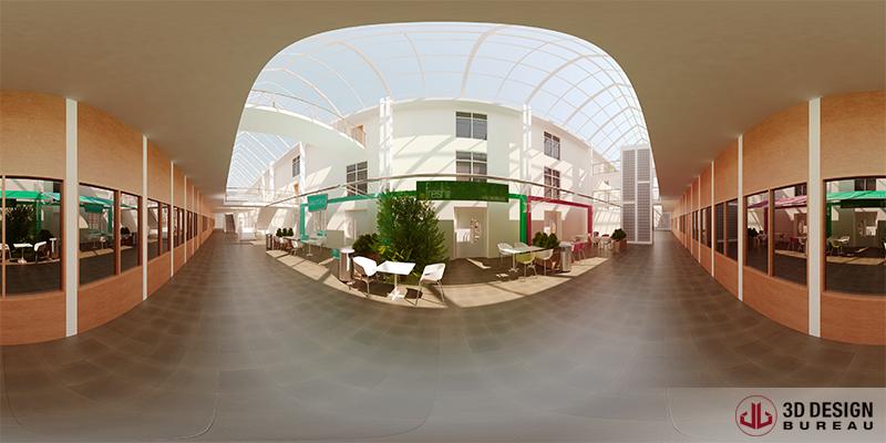 Virtual Reality - Restaurant - Trinity College Dublin