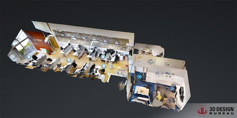 360 ° walk-through - Matterport