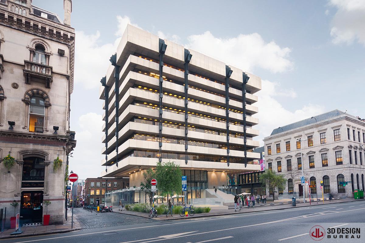 3d design bureau architectural montages commercial